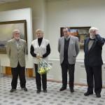 На открытии выставки Александра Колотилова