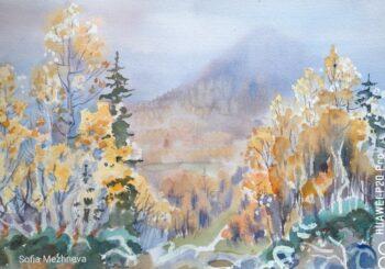 Выставка живописных работ Софьи Межневой «Путешествие по России»