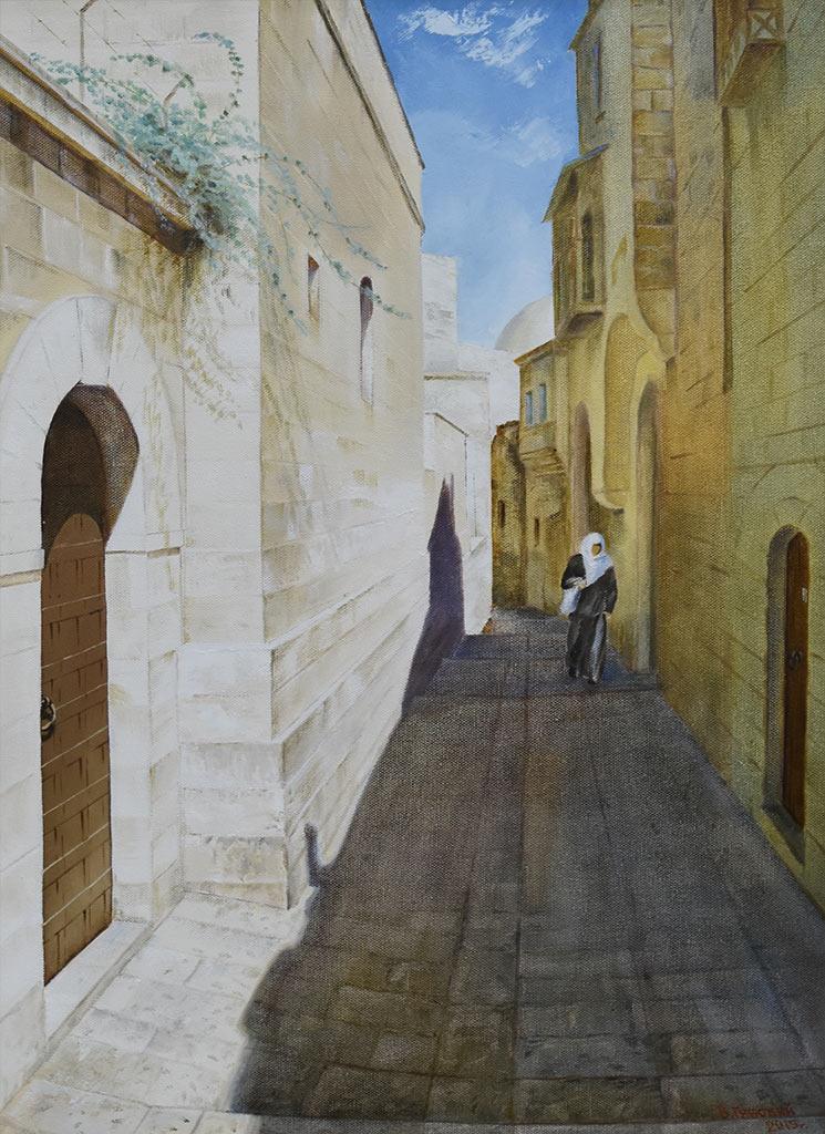 Владимир Губский. Иерусалимское солнце. Холст, масло, 2015 год