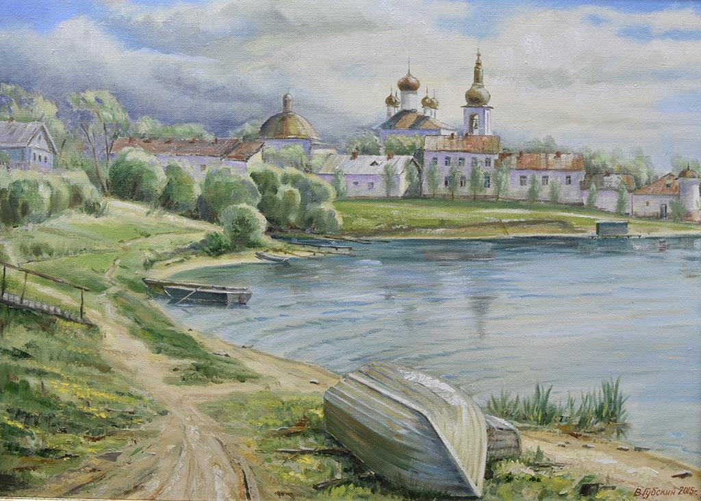 Владимир Губский. Горицкий монастырь. Холст, масло, 2015 год