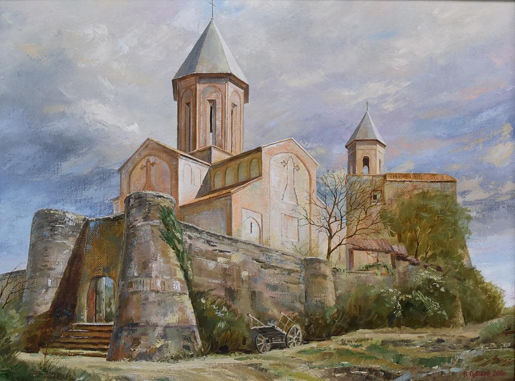 Владимир Губский. Монастырь Греми, Кахетия. Холст, масло, 2015 год