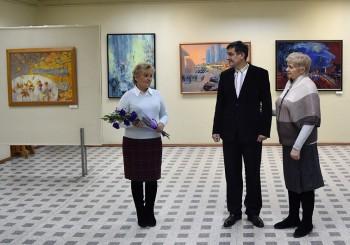 О выставке Сергея Поликарпова