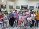 Школьники в летних лагерях активно знакомятся с выставками в ЦГБ им. И.Ф. Горбунова