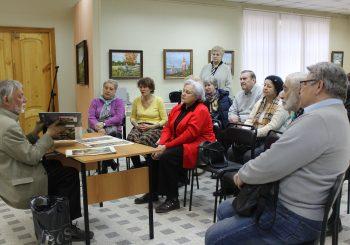 В ЦГБ им. И.Ф. Горбунова прошло заседание клуба «Поэзия кисти»