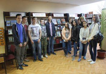 В ЦГБ им. И.Ф. Горбунова прошёл библиотечный урок «Память жива»