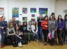 Студенты Техникума им. С.П. Королева посетили выставку граффити «COLORAMA»