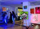 В ЦГБ им. И.Ф. Горбунова открыли выставку граффити «COLORAMA» и провели Библионочь