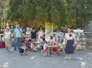 В Городском парке прошёл Фестиваль цветов и цвета