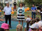 Летний читальный зал работал в день открытия детской площадки