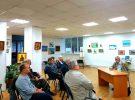 Клуб  художников и любителей изобразительного искусства при ЦГБ им. И.Ф. Горбунова провёл очередную встречу