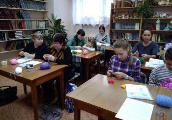 Мастер-класс Клуба «Берегиня» прошёл в Библиотеке-филиале № 2