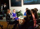 В библиотеке Горбунова прошли съёмки детской новогодней передачи «Любознатели»