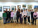 Сегодня в библиотеке Горбунова художник Софья Шараганова провела экскурсию