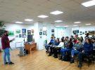 Сегодня в библиотеке Горбунова прошел молодежный медиафорум.