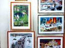 Открылась выставка рисунков