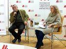 Сегодня в библиотеке Горбунова прошла встреча с Александром Ливергантом