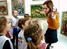«Бэби-сад» по выставке: «Радость творить»