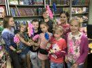 В библиотеке расцвели гиацинты