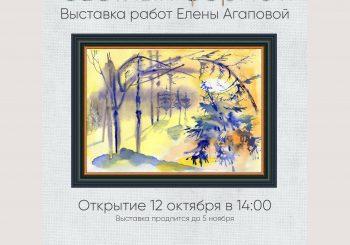 Выставка работ художника Елены Агаповой «Светлый формат»